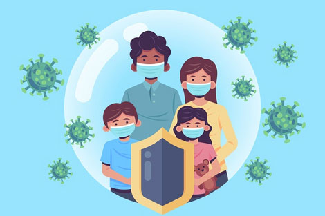family-protected-from-virus